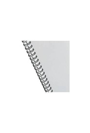 Canutillos de Espiral Wire 10 mm negro