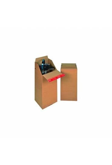 Caja cartón automontable 200X200X400