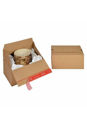 Caja cartón automontable 300X200X150