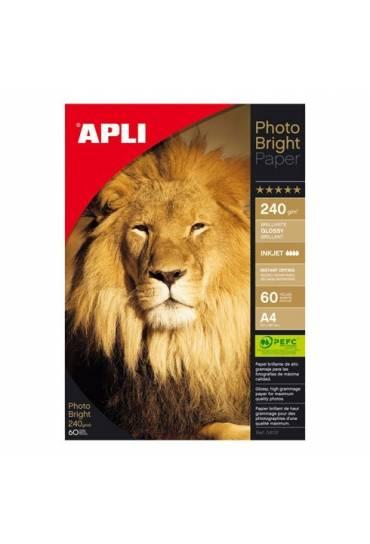 Papel fotográfico Photo bright/brillante A4