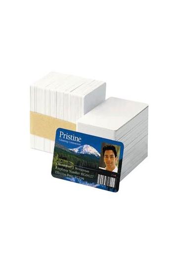 Paquete 250 Tarjetas Pvc Blancas 86X54Mm