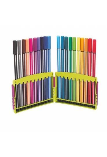 Estuche rotulador stabilo pen 68 20 colores
