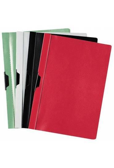 Dossier prestige con pinza rojo