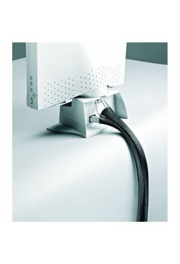 "Organizador de cables ""tubo"" 1,5 m Negro"
