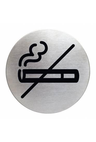 Placa pictograma prohibido fumar