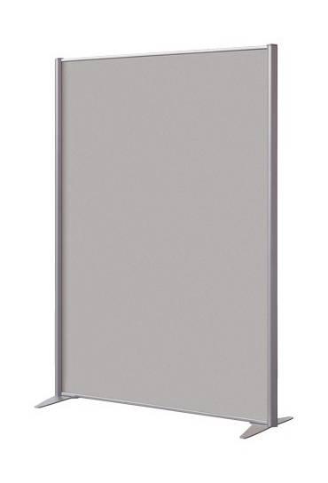 Mampara melamina 160x122 cm aluminio