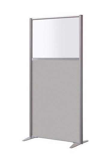 Mampara mixta 160x81 cm aluminio