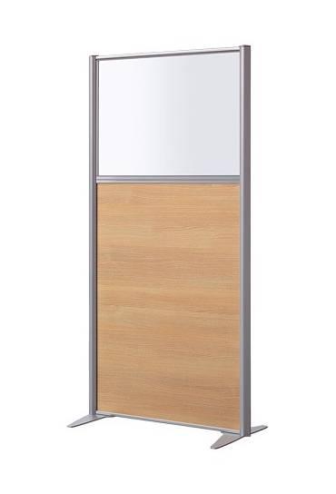 Mampara melamina 160x81 cm mixta haya b-zen