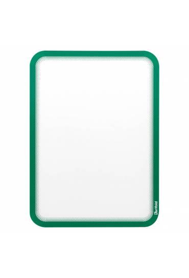Fundas Tarifold A4 magneticas verde 2 unidades