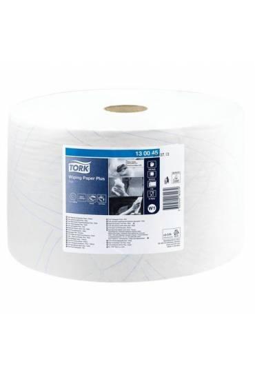 Bobina secado industrial papel blanco 750 h Tork