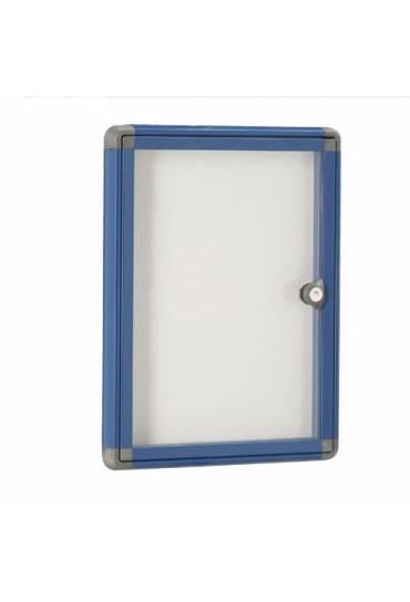 Vitrina exterior JMB puerta plexiglas 34x25,5 azul