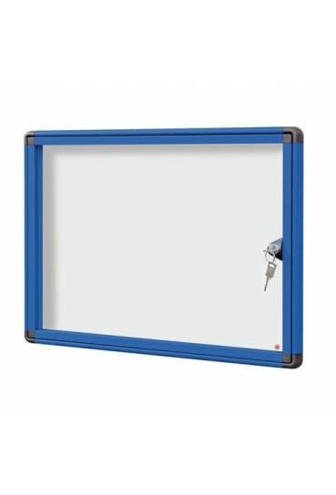 Vitrina exterior JMB puerta plexiglas 34x46,5 azul