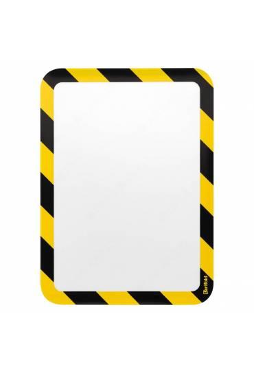 Fundas Tarifold seguridad adhesivas amarillo 2 uni