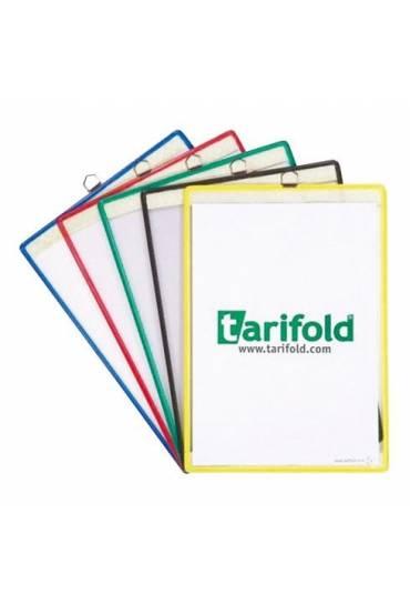 Fundas Tarifold A4 colgante con anilla 5 unidades