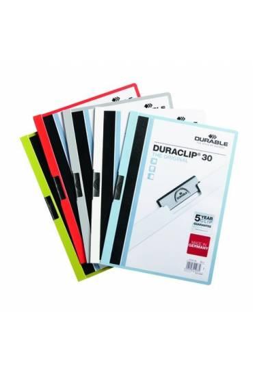 Dossier Durable duraclip 30mm hojas surtidos