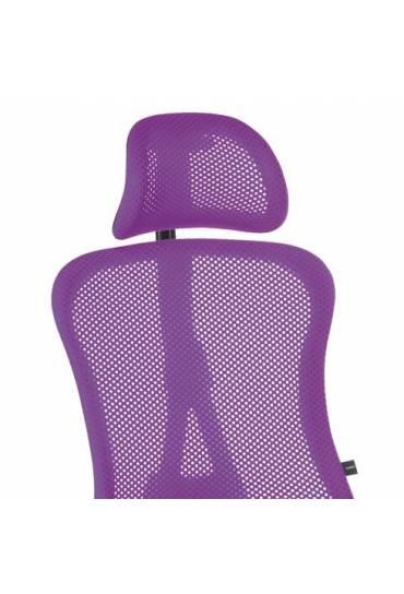 Reposacabezas silla Adrio violeta