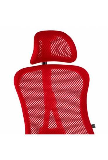 Reposacabezas silla Adrio roja