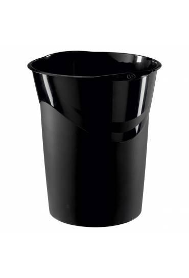 Papelera plastica Bruneau Negra