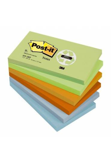 Bloc Post-it reciclados 38x51 colores 24 unds
