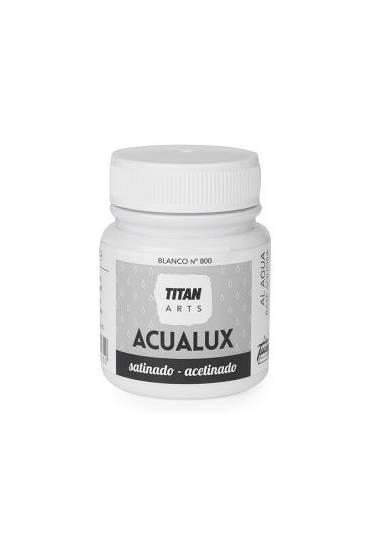 Titan Acualux 100 ml satinado blanca nº800