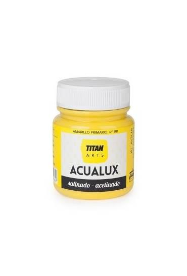 Titan Acualux 100 ml satinado Amarillo primario