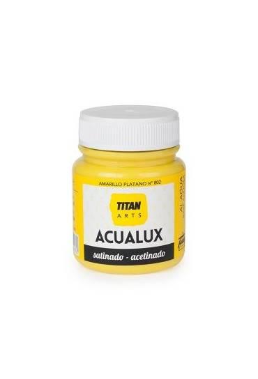 Titan Acualux 100 ml satinado Amarillo platano