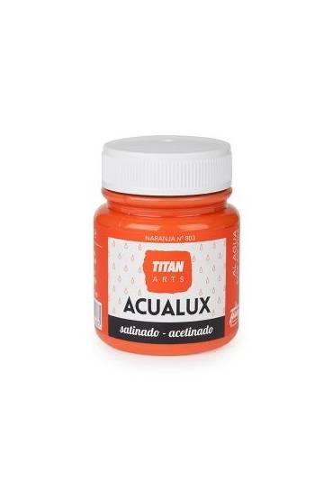 Titan Acualux 100 ml satinado Naranja