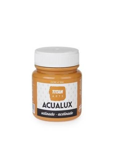 Titan Acualux 100 ml satinado Ocre