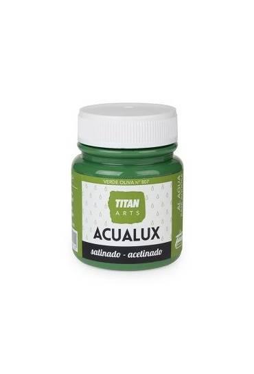Titan Acualux 100 ml satinado Verde oliva