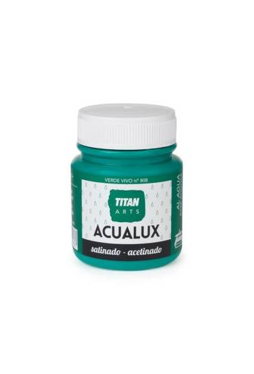 Titan Acualux 100 ml satinado Verde vivo