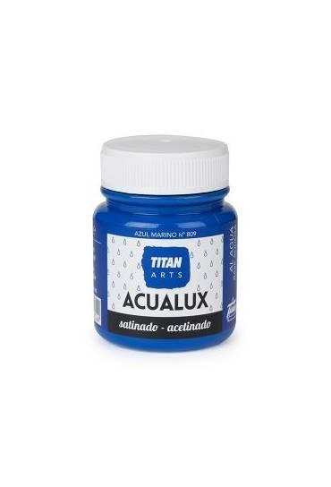 Titan Acualux 100 ml satinado Azul marino