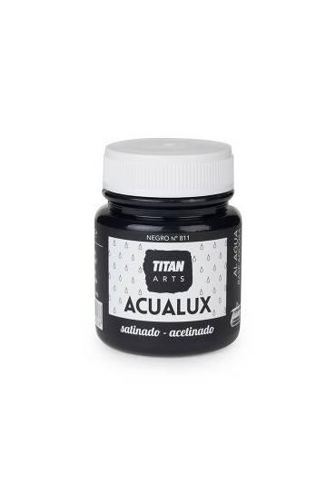 Titan Acualux 100 ml satinado Negro