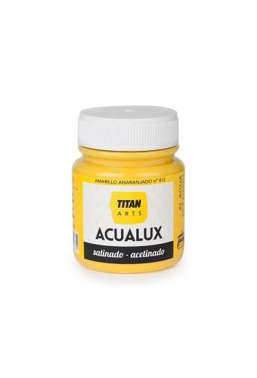 Titan Acualux 100 ml satinado Amarillo anaranjado