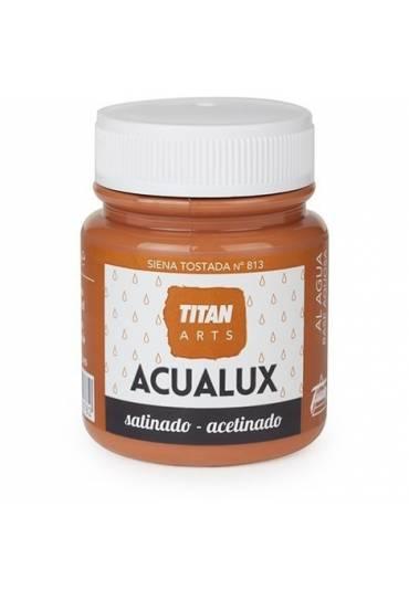 Titan Acualux 100 ml satinado Siena tostadal