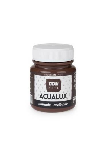 Titan Acualux 100 ml satinado Chocolate