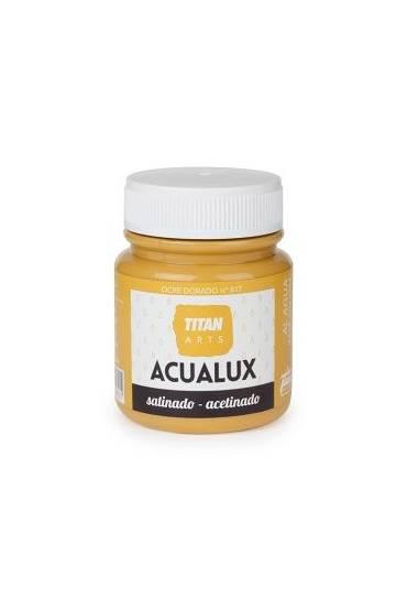 Titan Acualux 100 ml satinado Ocre dorado