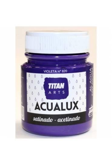 Titan Acualux 100 ml satinado Violeta