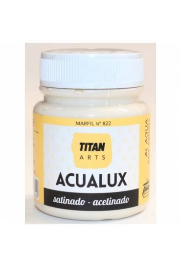 Titan Acualux 100 ml satinado Marfil nº822