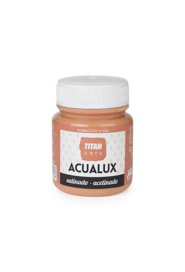 Titan Acualux 100 ml satinado Terracota