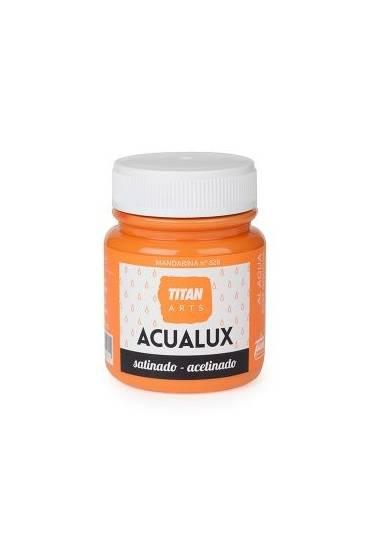 Titan Acualux 100 ml satinado Mandarina