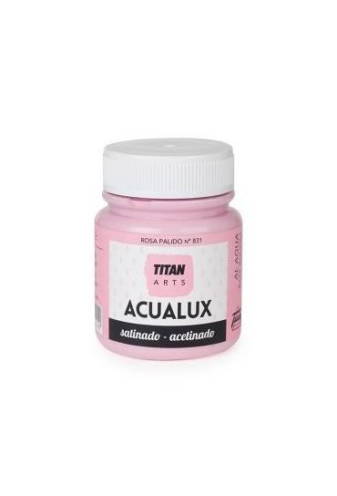 Titan Acualux 100 ml satinado Rosa palido