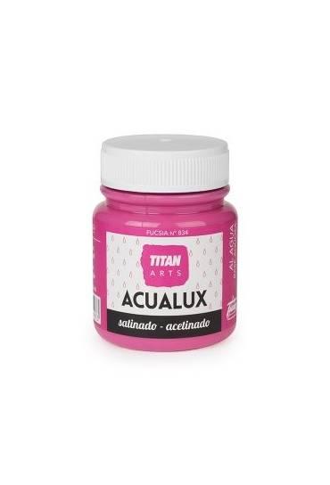 Titan Acualux 100 ml satinado Fucsia
