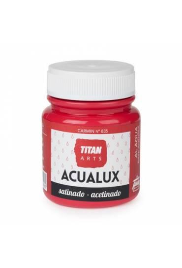 Titan Acualux 100 ml satinado Carmin