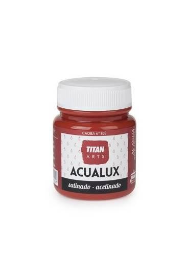 Titan Acualux 100 ml satinado Caoba