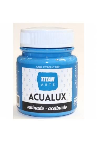 Titan Acualux 100 ml satinado Azul cyan nº839