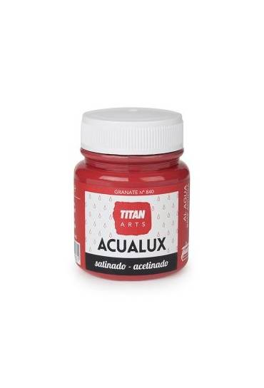 Titan Acualux 100 ml satinado Granate