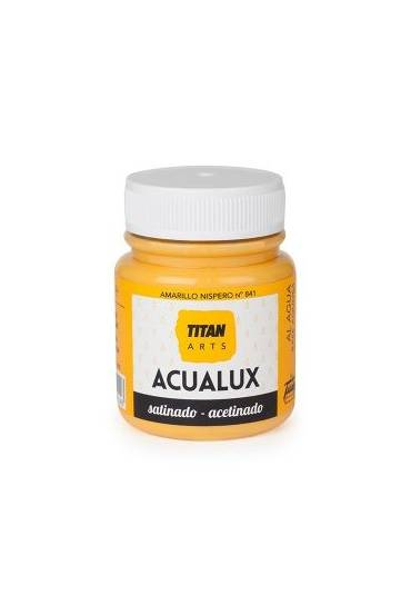 Titan Acualux 100 ml satinado Amarillo nispero