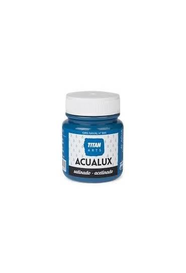 Titan Acualux 100 ml satinado Gris naval