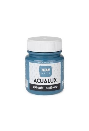 Titan Acualux 100 ml satinado Gris acero