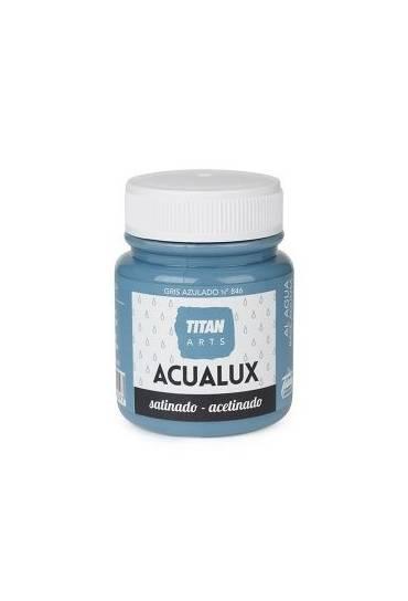 Titan Acualux 100 ml satinado Gris azulado
